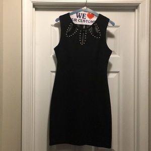 Dresses & Skirts - Black dress with studs